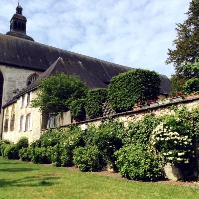 Vue sur l'Abbaye d'Hautvillers